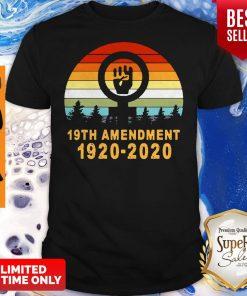 Pretty Vintage 19th Amendment 1920 2020 Shirt
