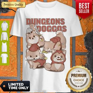Premium Dungeons And Doggos Shirt