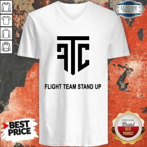 Official Flight Team Stand Up V-neck