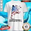 Awesome Jogging American Flag Stay Strong Everything Will Be Ok Shirt