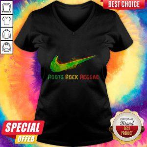 Awesome Nice Roots Rock Reggae V-neck