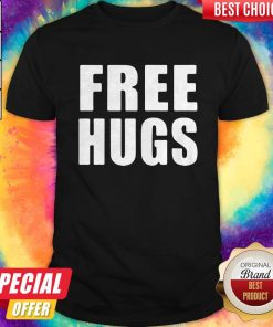 Awesome Official Free Hugs Shirt