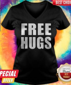 Awesome Official Free Hugs V-neck