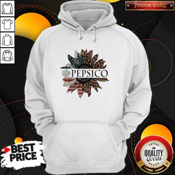 Awesome Pepsico The 4th Of July Sunflower American Flag Hoodie