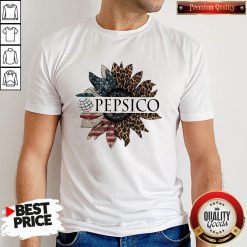 Awesome Pepsico The 4th Of July Sunflower American Flag Shirt