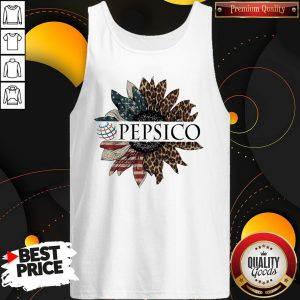 Awesome Pepsico The 4th Of July Sunflower American Flag Tank Top