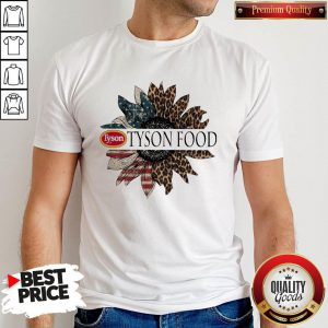 Funny Tyson Food The 4th Of July Sunflower American Flag Shirt