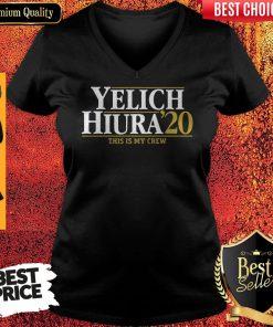 Nice Yelich Hiura 2020 This Is My Crew Milwaukee Brewers V-neck