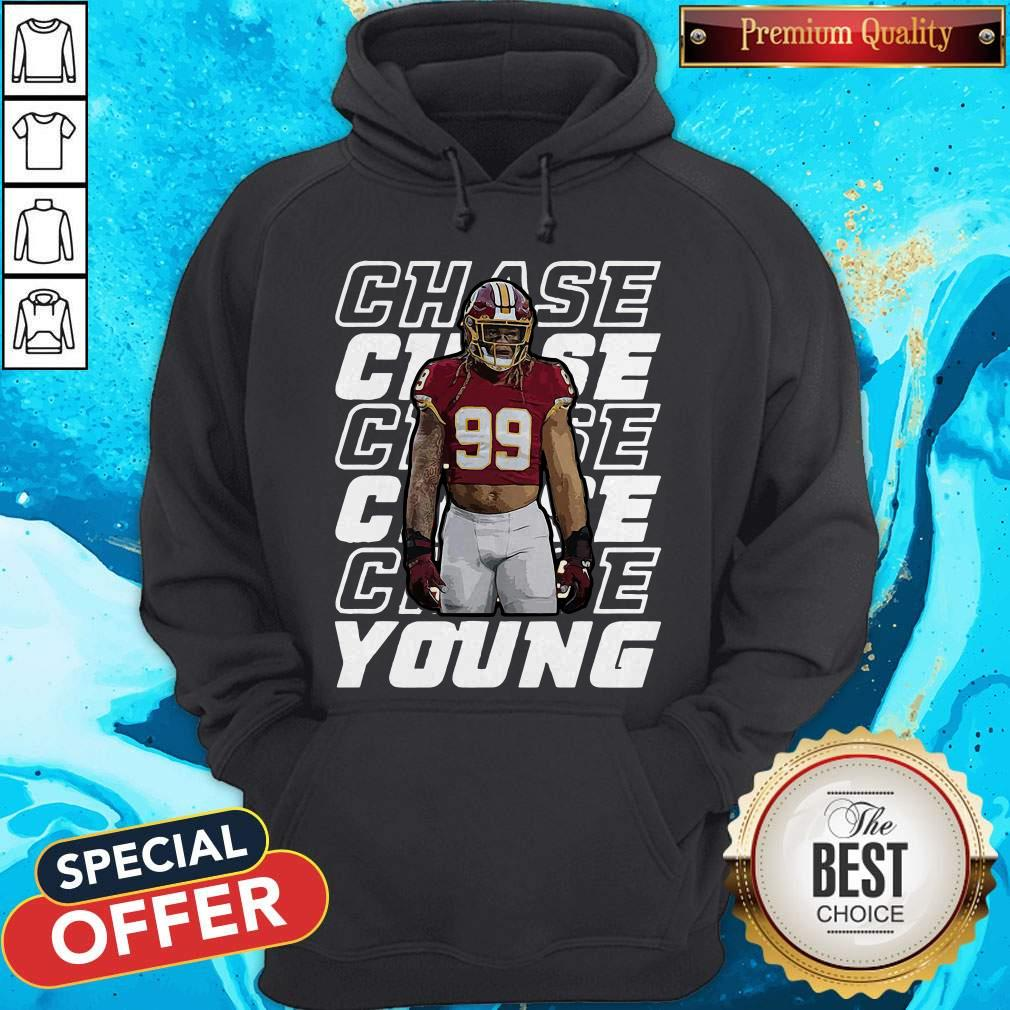 Nice Young 99 Washington Football Predator Chase Hoodie