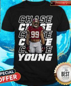 Nice Young 99 Washington Football Predator Chase TShirt