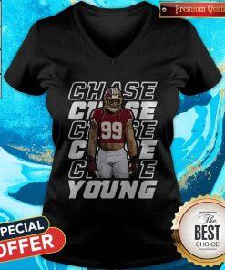 Nice Young 99 Washington Football Predator Chase V-neck