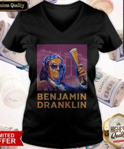 Official Benjamin Franklin V-neck