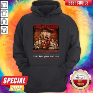 Official The Searchers 65th Anniversary 1955 2020 Thank You For The Memories Signatures Hoodie