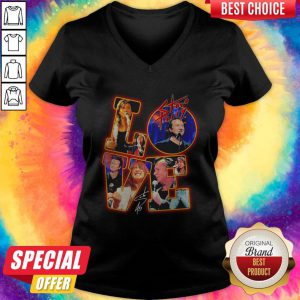 Premium Love Steve Perry Signature V-neck