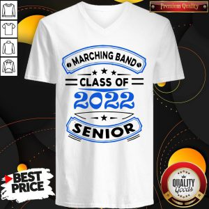 Premium Marching Band Class Of 2020 Senior V-neck
