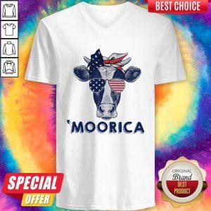 Premium Moorica 4th July Farmer V-neck