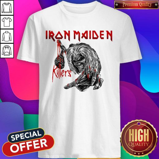 Top Iron Maiden Killers Shirt