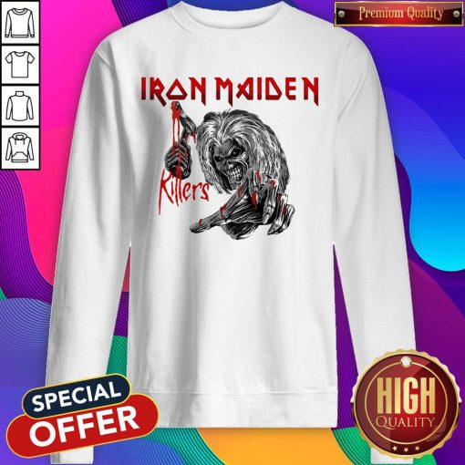 Top Iron Maiden Killers Sweatshirt