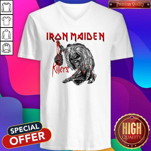 Top Iron Maiden Killers V-neck