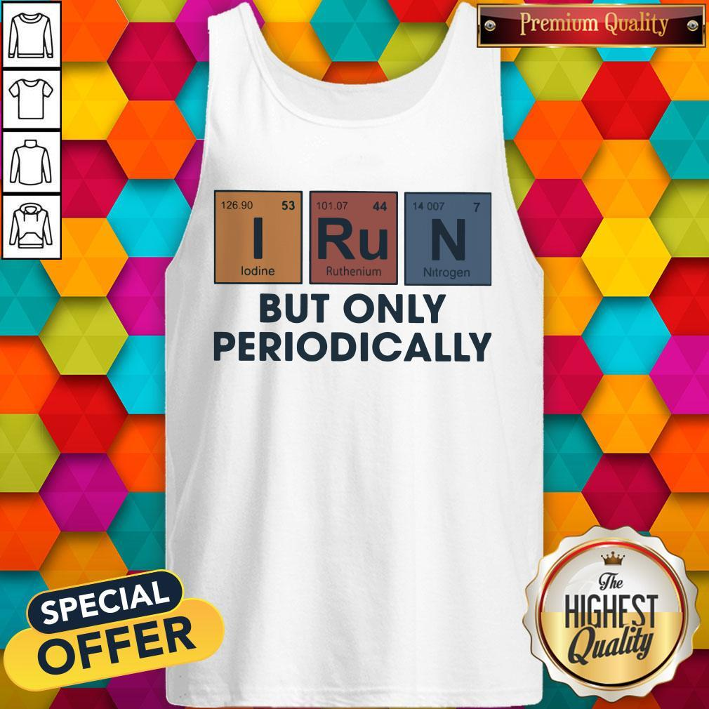 Funny I Run But Onolly Tank Top