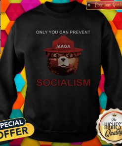 Nice Maga Bear Only You Can Prevent Socialism Sweatshirt
