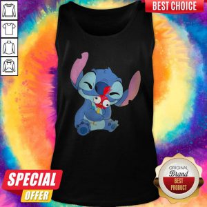 Official Stitch Hug Hey Hey Chicken Tank Top