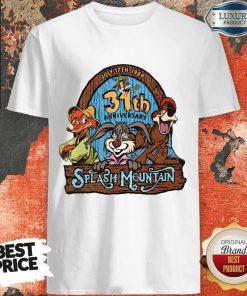 Top 30st Anniversary Splash Mountain Shirt