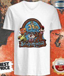 Top 30st Anniversary Splash Mountain V-neck