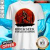 Top Bigfoot Hide And Seek World Champion Blood Moon Shirt