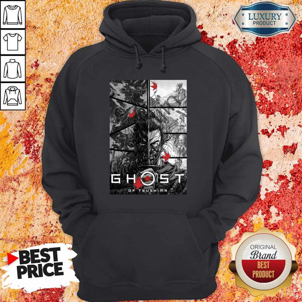 Top Ghost Of Tsushima Hoodie