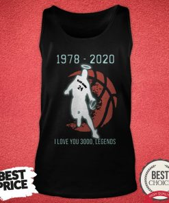 Black Mamba 24 1978 2020 I Love 3000 Legends Tank Top