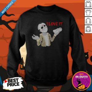 Halloween Jason Voorhees I Love IHalloween Jason Voorhees I Love It Cross SweatshirtHalloween Jason Voorhees I Love It Cross Sweatshirtt Cross Sweatshirt