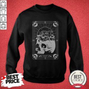 Nice Skull Mushroom Rebirth SweatNice Skull Mushroom Rebirth Sweatshirtshirt