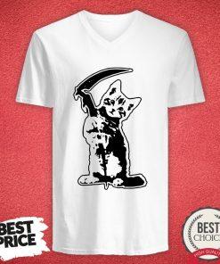 Official Cat Death V-neck