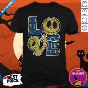 Official Notre Dame Jack Skellington And Sally Love Shirt