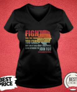 Official RBG Fight For The Things You Care About V-neck