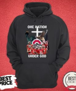 Ohio State Buckeyes One Nation Under God Hoodie