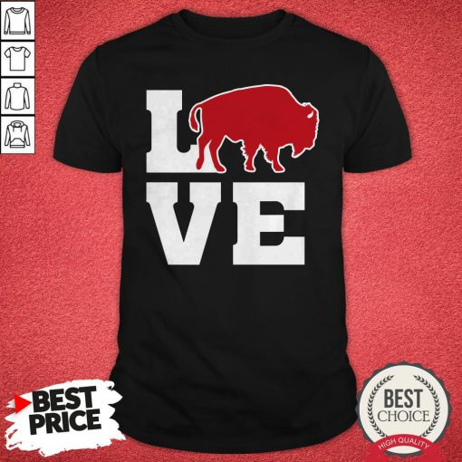Top Love Buffalo Vintage NY Football Mafia Shirt