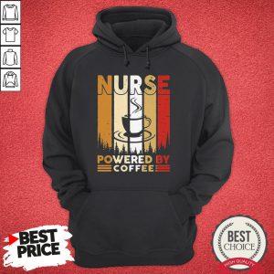 Top Nurse Powered By Coffee Vintage Hoodie