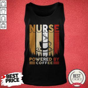 Top Nurse Powered By Coffee VintaTop Nurse Powered By Coffee Vintage Tank Topge Tank Top