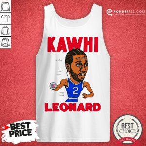 02nd Kawhi Leonard Los Angeles Clippers Tank Top - Desisn By Pondertee.com