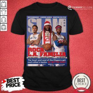 Funny SLAM Cover Clippers Pat Trez Lou Shirt- Desisn By Pondertee.com