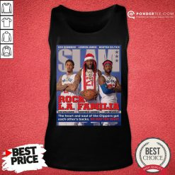Funny SLAM Cover Clippers Pat Trez Lou Tank Top - Desisn By Pondertee.com
