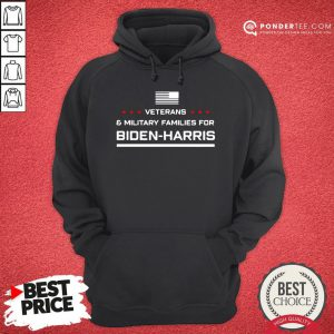 Good Veterans And Military Families For Biden Harris Hoodie - Desisn By Pondertee.com
