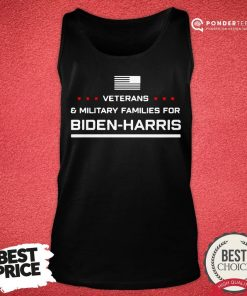 Good Veterans And Military Families For Biden Harris Tank Top - Desisn By Pondertee.com