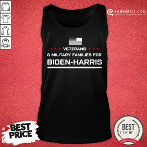 Good Veterans And Military Families For Biden Harris Tank Top - Desisn By Pondertee.com