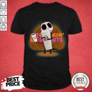 Jack Hug Coffee Dunkin' Donuts Halloween Shirt