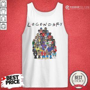 King Of Hip Hop Legendary Friends TV Show Tank Top - Desisn By Pondertee.com