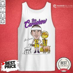 Los Angeles Lakers The Carushow Tank Top - Desisn By Pondertee.com