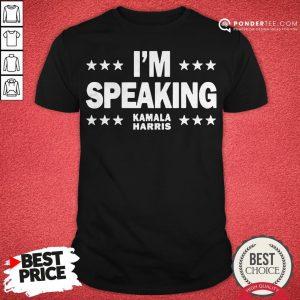 Mr Vice President I'm Speaking Shirt - Desisn By Pondertee.com